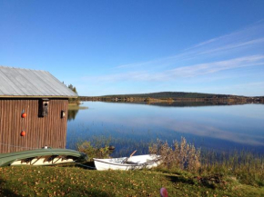 Lakeside House in Lapland in Skaulo