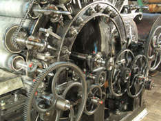 Webmaschine (Foto: Museum Tuch + Technik)