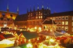 Lübecker Weihnachtsmarkt (Foto ©Lübeck und Travemünde Tourist-Service)