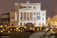 Die Nationaloper in Riga