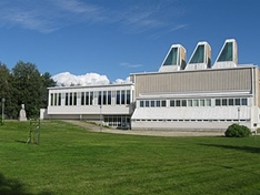 Aines Kunstmuseum in Tornio an der Ostsee in Finnland